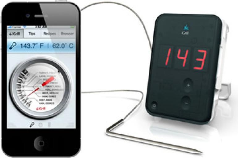 Igrill termometro digitale da cucina per iphone - Termometri da cucina ...