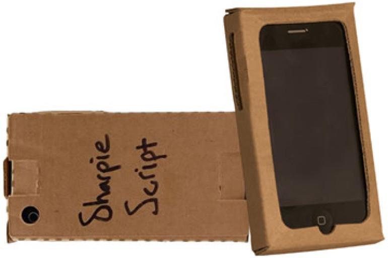 Case di cartone per iphone 3g dottorgadget
