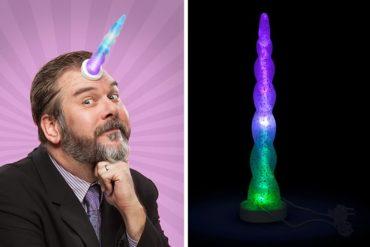 Corno LED da unicorno