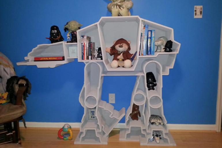 Camera Da Letto Star Wars : Le librerie artigianali di star wars dottorgadget