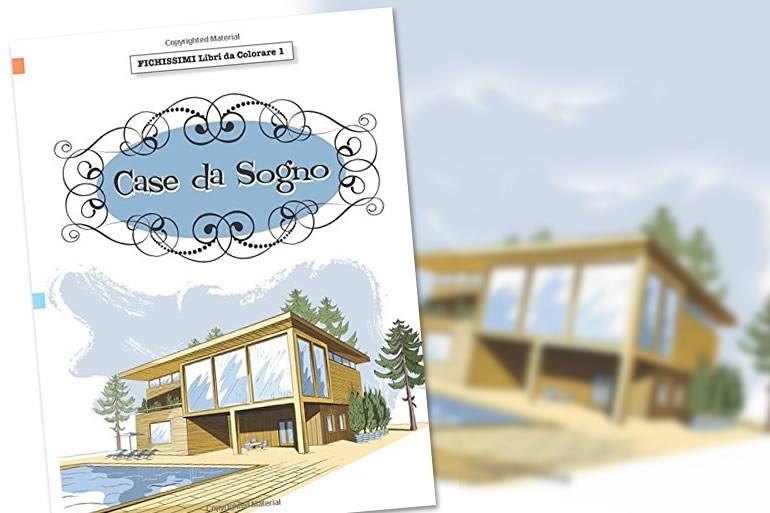 Disegno Bagno Da Colorare : Libro da colorare u case da sogno dottorgadget