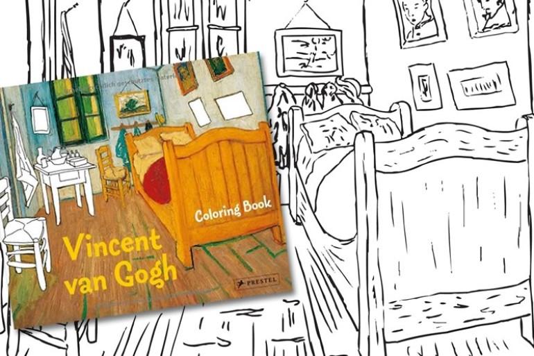 Libro da colorare di Van Gogh | DottorGadget