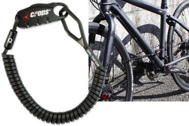 Lucchetto per bici a molla CROPS Pro Q4