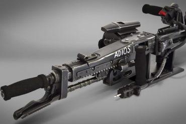 M56 smartgun di Aliens