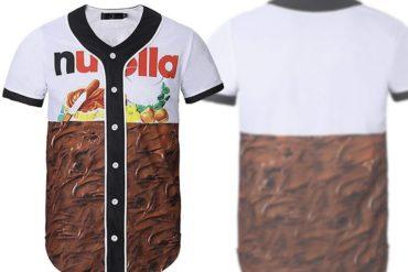 Camicia Nutella da baseball
