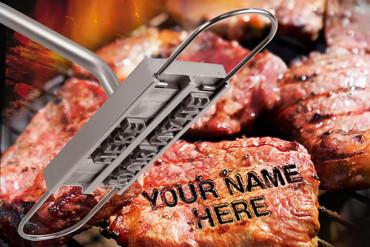Il marchia bistecche per grigliate