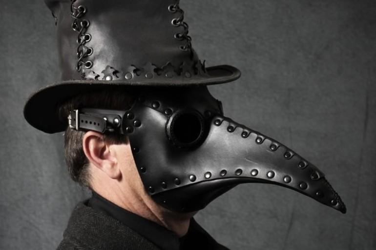 maschera da medico della peste dottorgadget