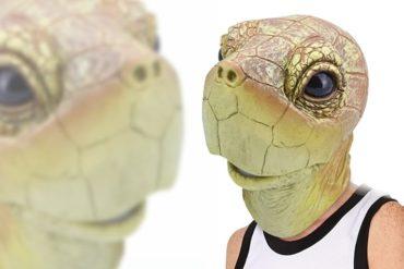 Maschera da tartaruga