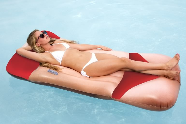 Materassino bikini dottorgadget for Gadget da piscina