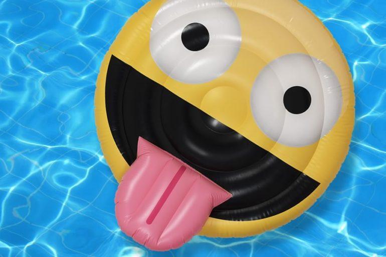 Materassino emoticon dottorgadget for Gadget da piscina