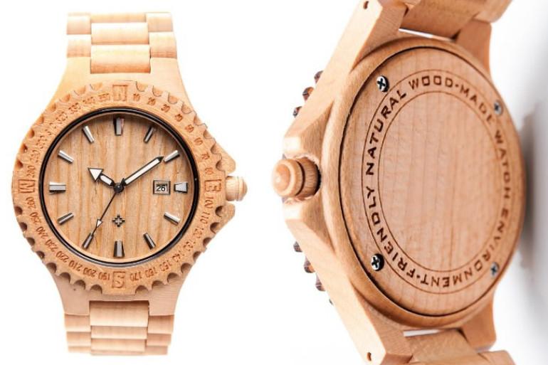 laimer orologio da polso di legno dottorgadget