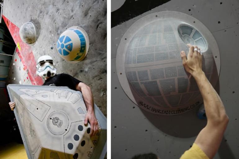 Pareti da arrampicata per scalatori geek dottorgadget - Tardis selber bauen ...