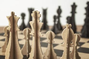 Gli scacchi di cartone