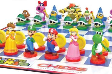 Scacchiera Super Mario