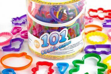 Super set di 101 formine per biscotti 680a029b09ef