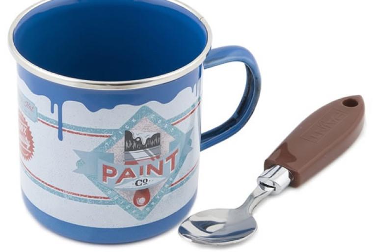 Lampada Barattolo Vernice : La tazza barattolo di vernice dottorgadget
