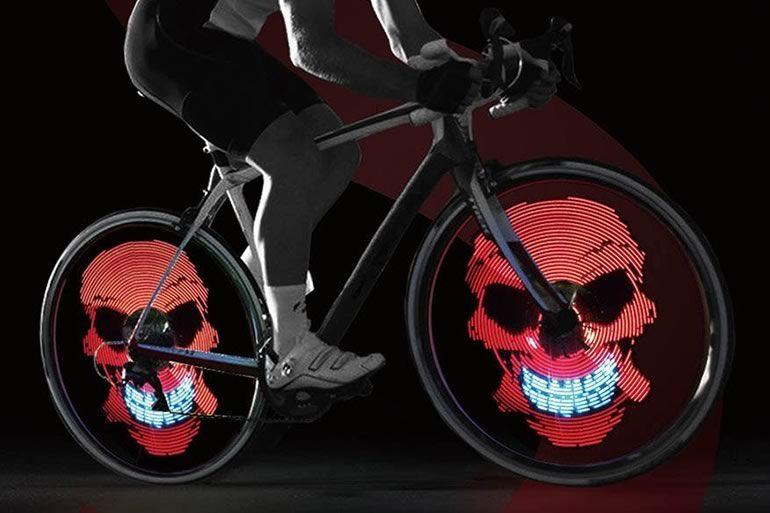 Impianto illuminazione bici bicicletta da uomo cervinia impianto