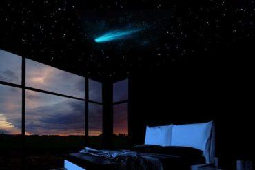 Cometa fluorescente