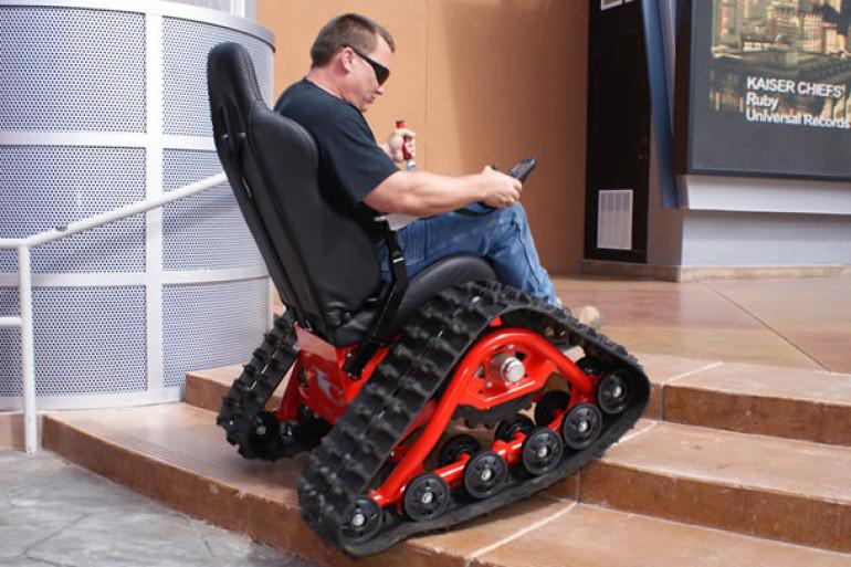 la sedia a rotelle estrema dottorgadget