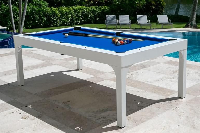 tavolo da giardino con biliardo dottorgadget