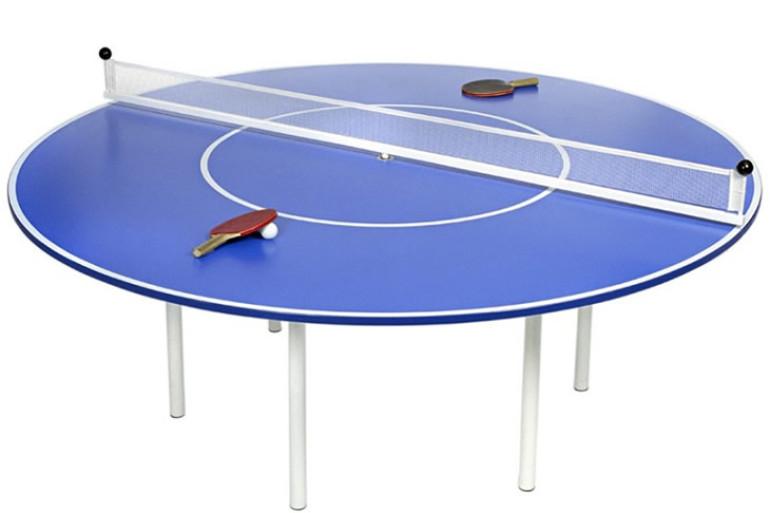 Il tavolo da ping pong rotondo dottorgadget - Tavolo da ping pong ...