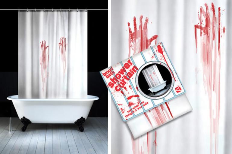 Tende Da Doccia Design : Tenda da doccia horror dottorgadget