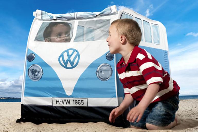 La tenda volkswagen per bambini dottorgadget