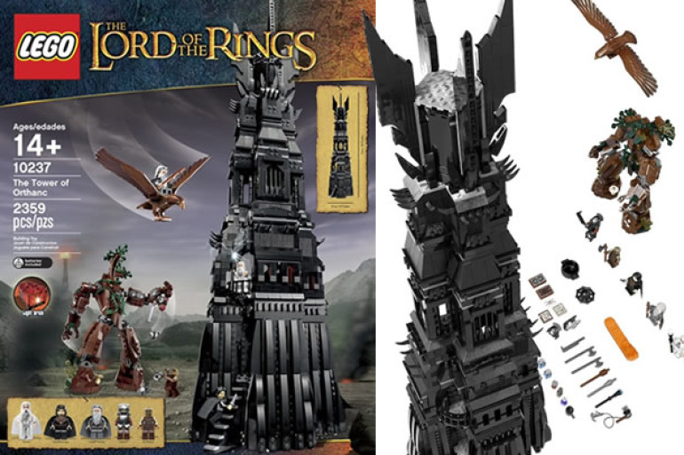how to get saruman in lego lord of the rings