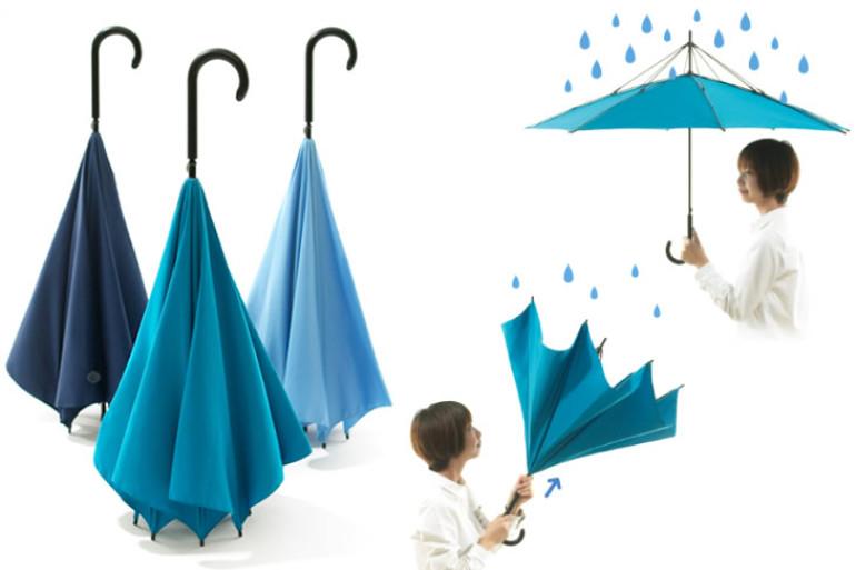 Unbrella l ombrello al contrario dottorgadget - Casa al contrario ...