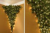 L'albero di Natale al contrario!