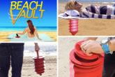 Il portaoggetti da spiaggia