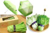Vegetabrella, l'ombrello di insalata