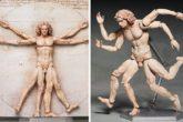 Action figure dell'Uomo Vitruviano