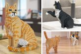 Gatti in stile LEGO