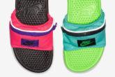 Ciabatte con marsupio Nike
