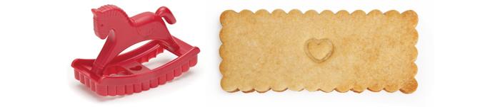cavallo dondolo stampo biscotti