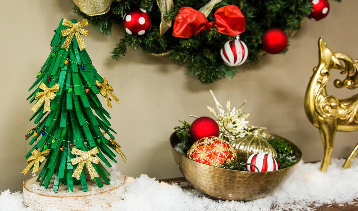 Lavoretti Con Mollette Di Legno Per Natale.Gli Addobbi Natalizi Fai Da Te E Le Piu Belle Decorazioni Per Natale