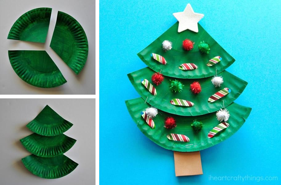 Alberi Di Natale Di Carta.Lavoretti Di Natale Fai Da Te Facili Ecco Tante Idee Da Fare A Casa