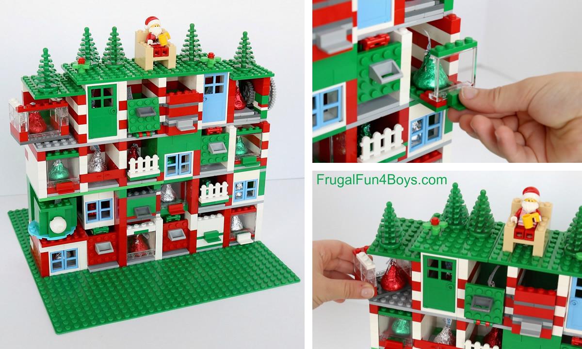 Calendario dell'avvento LEGO fai da te