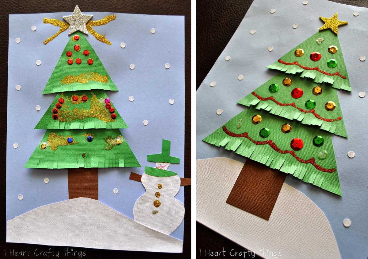 Lavoretti Di Natale Per Bambini Con Cartoncino.Lavoretti Di Natale Fai Da Te Facili Ecco Tante Idee Da Fare A Casa