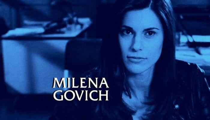 Milena Govich in Law & Order