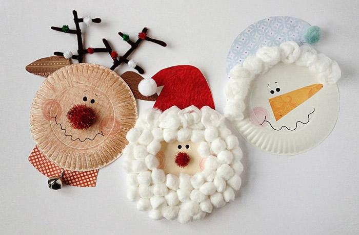 Lavoretti Di Natale Con Piatti Di Plastica.Lavoretti Di Natale Fai Da Te Facili Ecco Tante Idee Da Fare A Casa