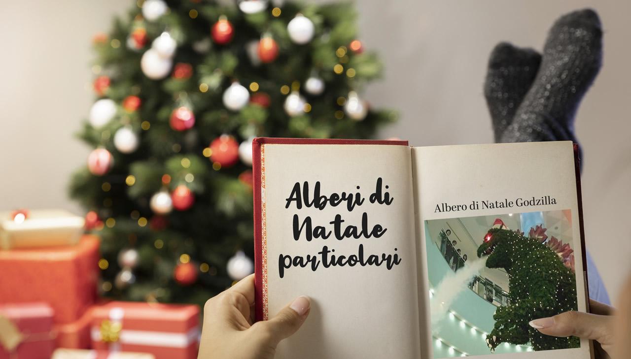 Albero Di Natale Originale Fai Da Te.Come Fare Un Albero Di Natale Sospeso Alberi Di Natale