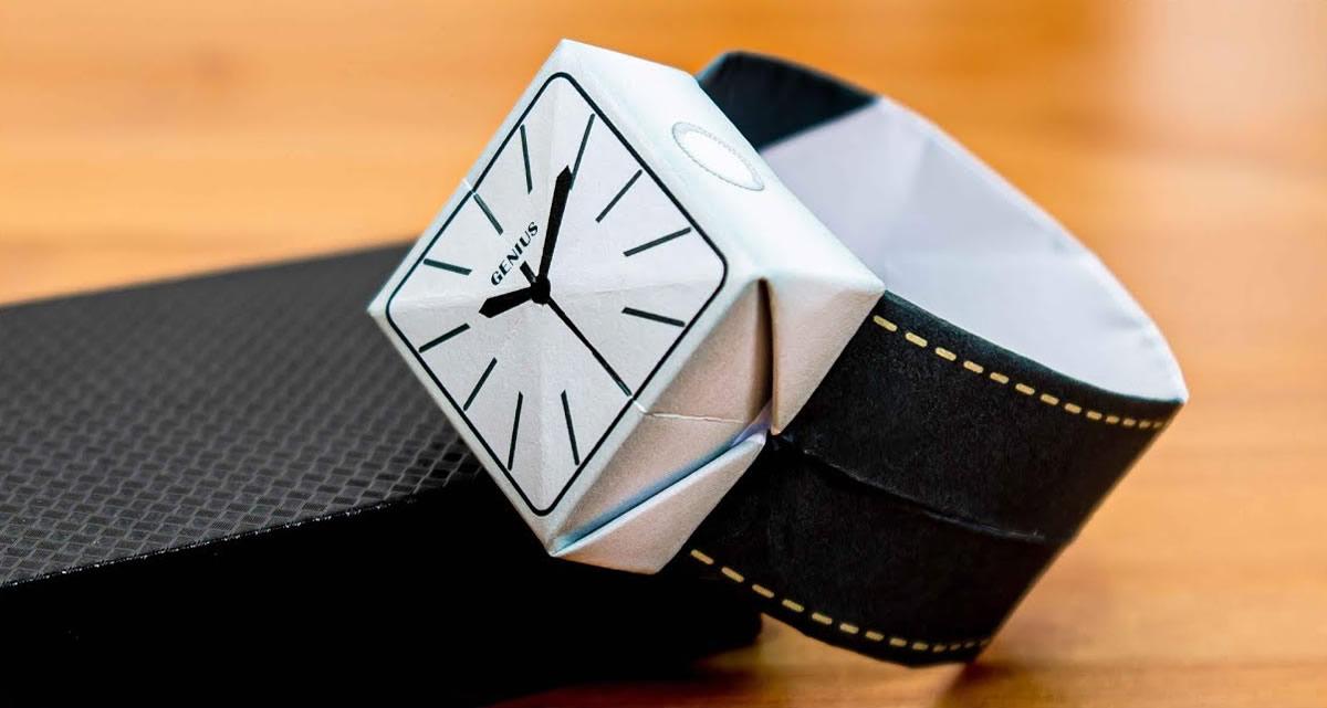 Orologio da polso Origami