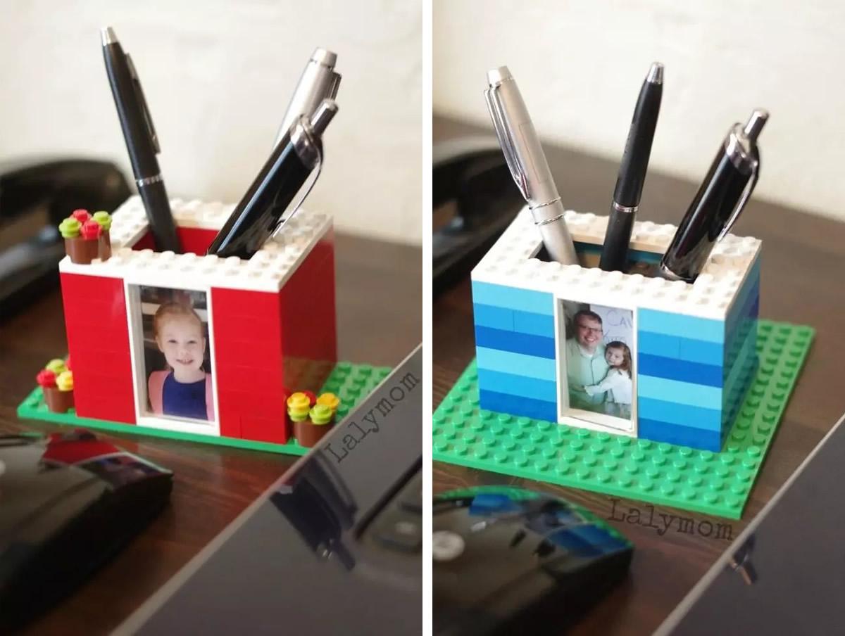 Pertapenne LEGO fai da te