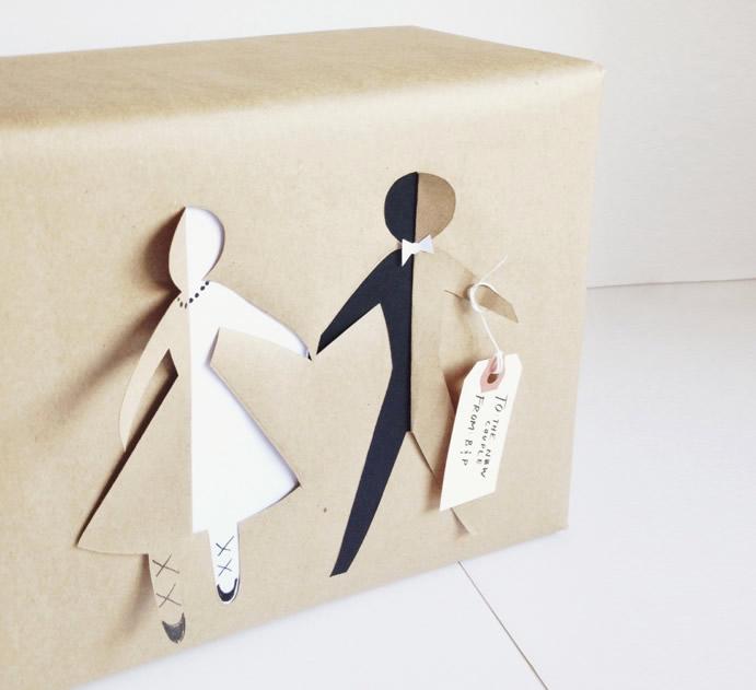 Pacchetto regalo fai da te per coppie