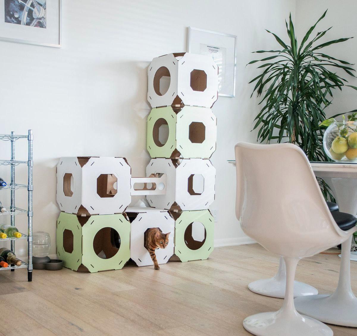 Casa modulare di cartone