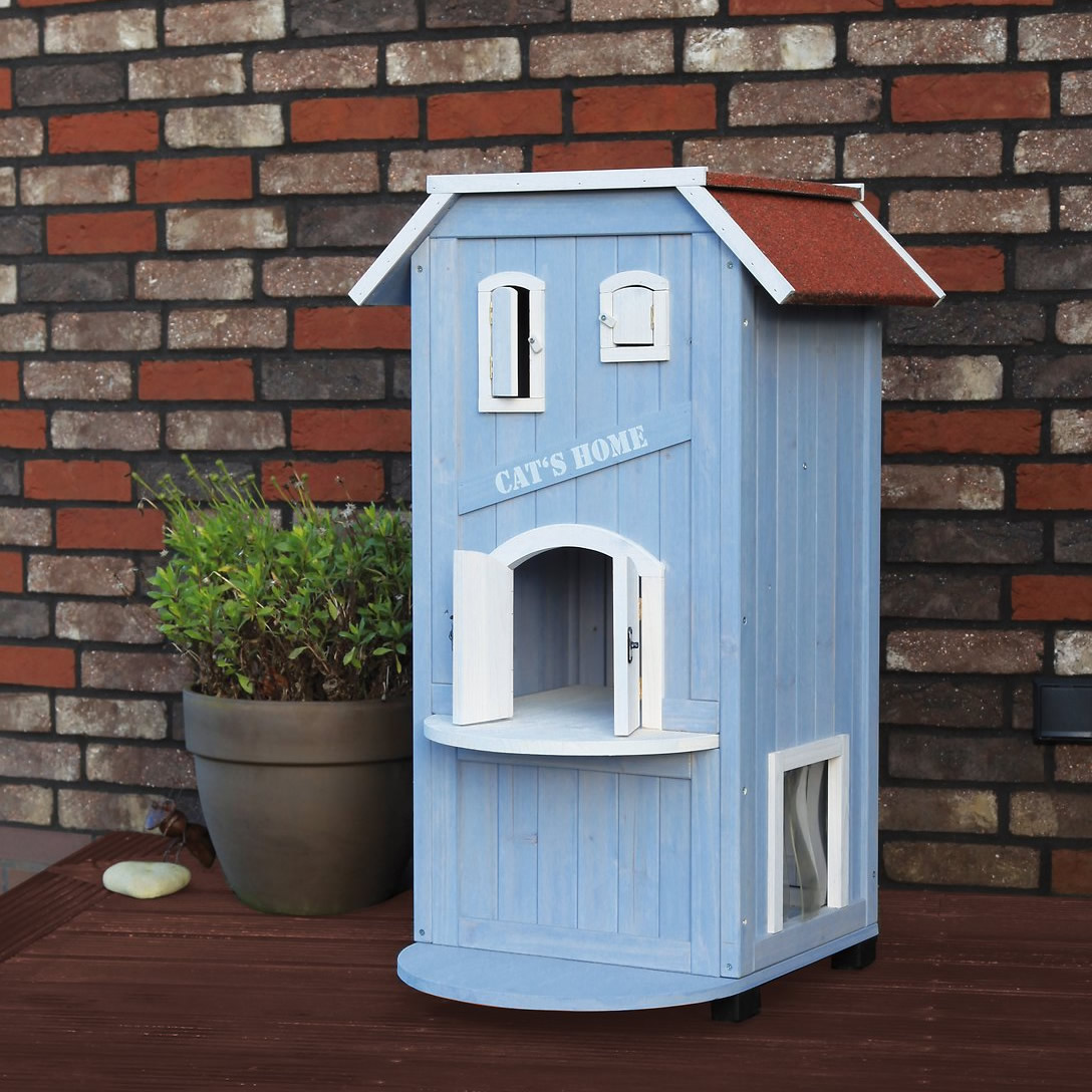 Casa a 3 piani per felini